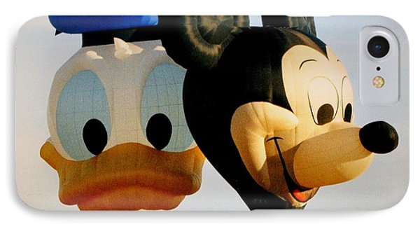 Mickey And Donald I IPhone Case