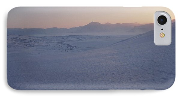 Midnight Sun Hovers Above Polar IPhone Case
