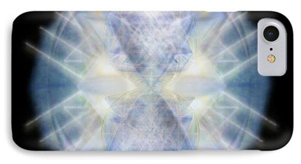 Mirror Emergence II Blue N Teal IPhone Case