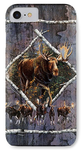 Bull iPhone 8 Case - Moose Lodge by JQ Licensing