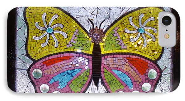 Mosaic Butterfly IPhone Case