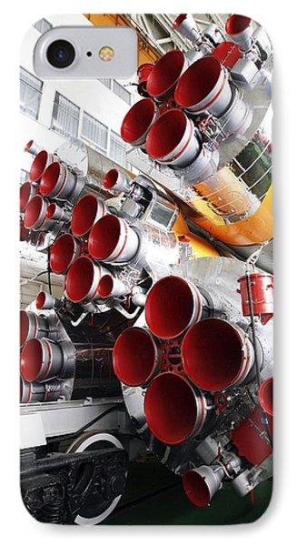 Motors Of A Soyuz Rocket IPhone Case