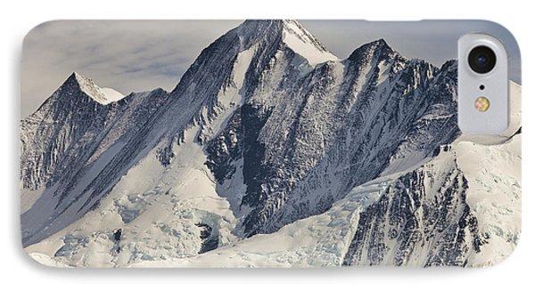 Mountain iPhone 8 Case - Mount Herschel Above Cape Hallett by Colin Monteath