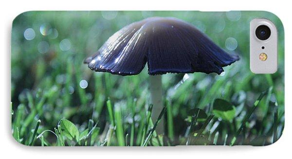 Mushroom In Morning Light IPhone Case