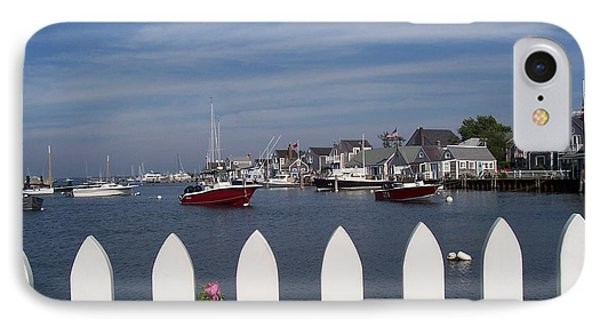 Nantucket Harbor IPhone Case