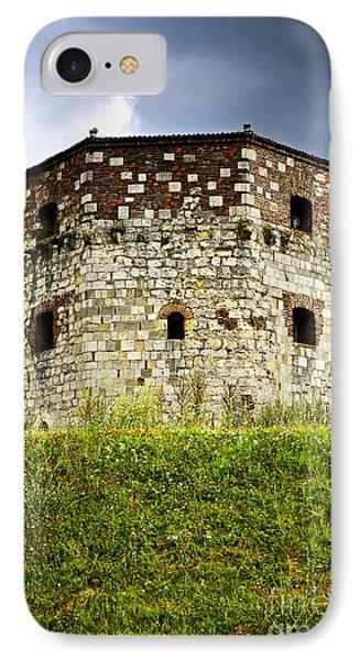 Dungeon iPhone 8 Case - Nebojsa Tower In Belgrade by Elena Elisseeva