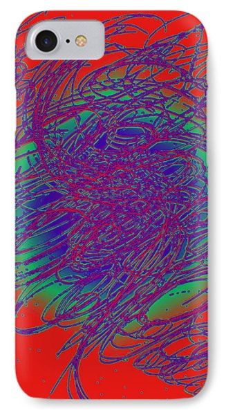 Neon Poster. IPhone Case