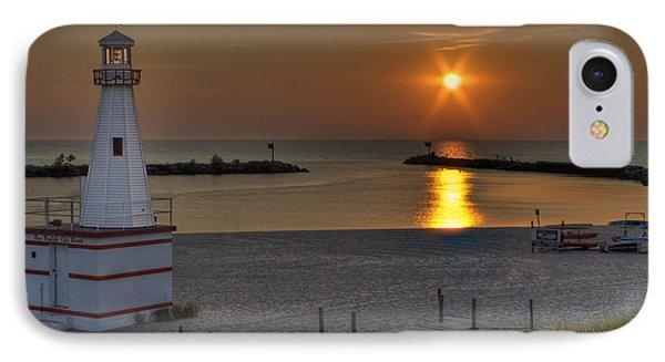 New Buffalo City Beach Sunset IPhone Case