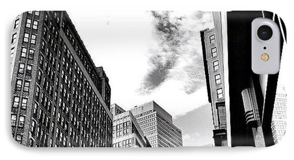 New York City - In Flight IPhone Case
