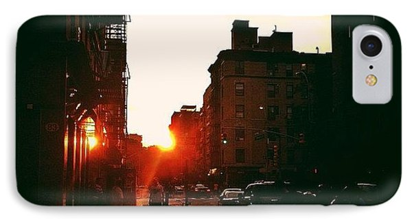 New York City Sunset IPhone Case