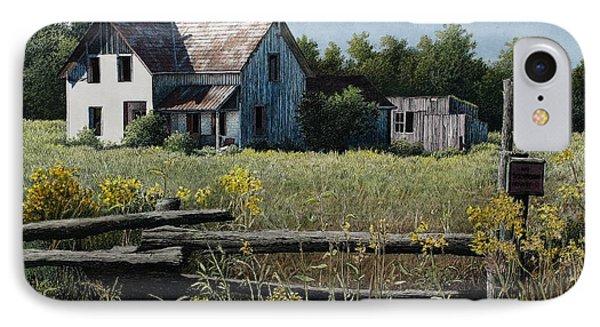 Newboro Farmhouse IPhone Case