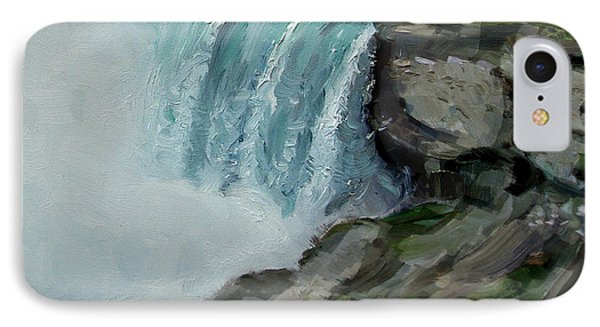 Niagara Falls Rocks IPhone Case