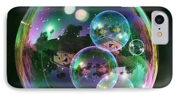 #nofilter #doubletap #bubbles IPhone Case