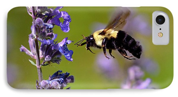 Non Stop Flight To Pollination IPhone Case