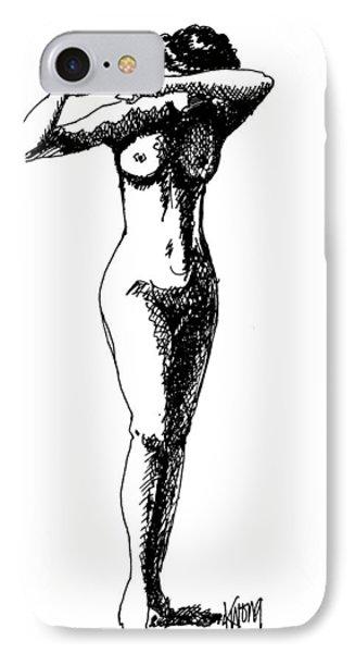 Nude Study 1 IPhone Case
