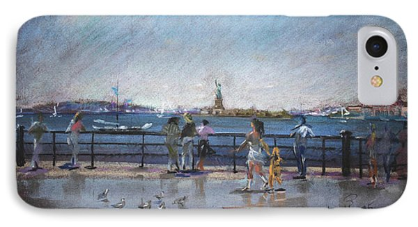 Nyc Grand Ferry Park 2 IPhone Case