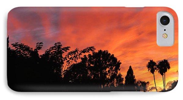 October Sunset 10 IPhone Case