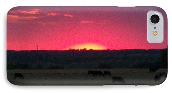 Okie Sunset IPhone Case