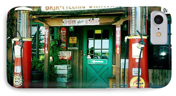 Old Fashioned Filling Station IPhone Case