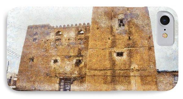 Old Mansion In Mirbat IPhone Case