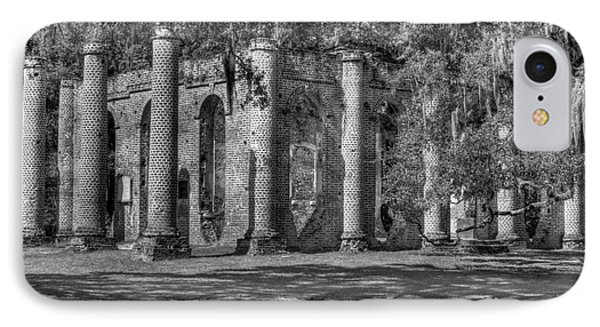 Old Sheldon Church Black And White IPhone Case