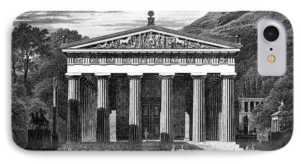 Olympia: Temple Of Zeus IPhone Case