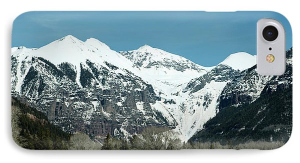 On The Road To Telluride IPhone Case