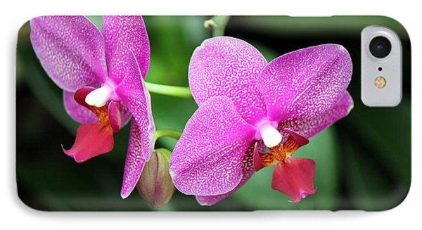Orchid Purple IPhone Case