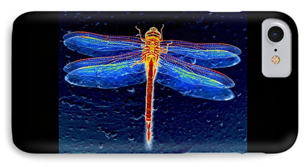 Ornate Odonata IPhone Case