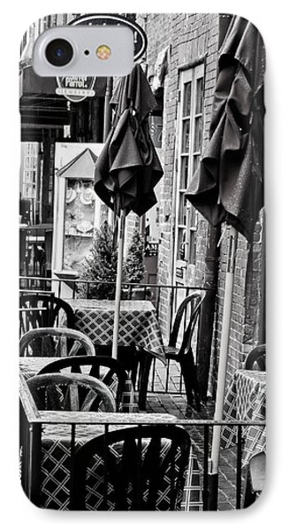 Outside Dining  IPhone Case