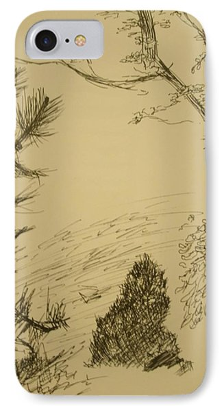 Outside IPhone Case