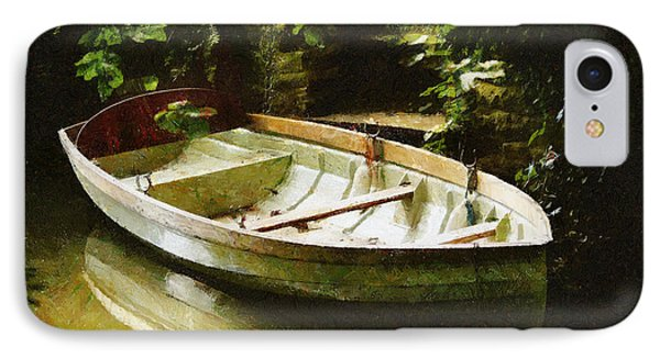 Oxford Boat And Dock IPhone Case