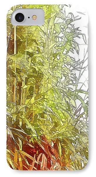Painted Bamboo IPhone Case