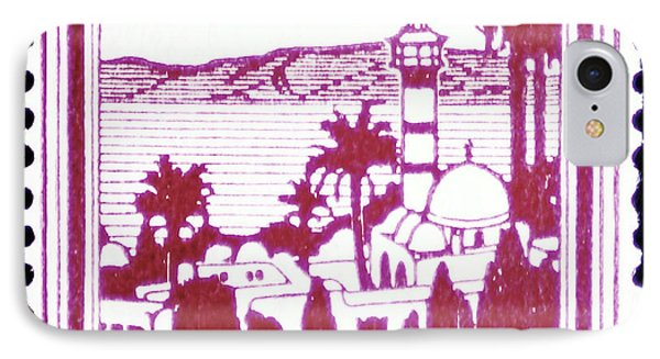 Palestine Vintage Postage Stamp IPhone Case