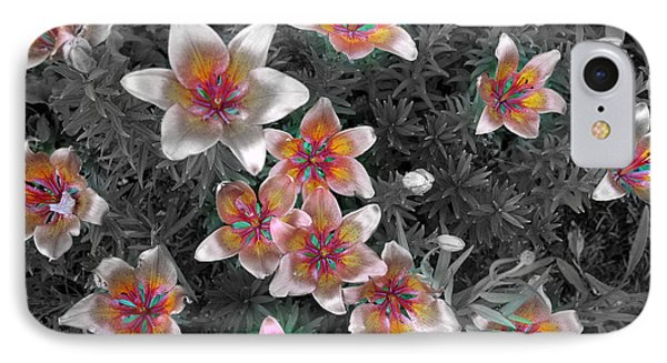 Pasqueflower In Silver IPhone Case