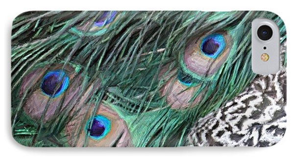 Peacock Feathers IPhone Case