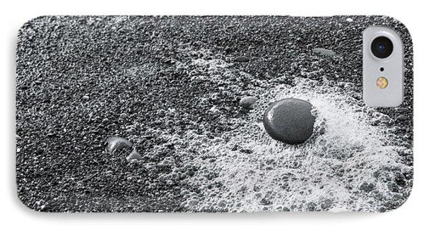 Pebble On Foam IPhone Case