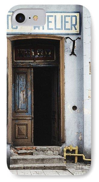 Photography Studio Entrance IPhone Case