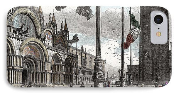 Piazza San Marco In Venice IPhone Case