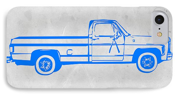 Truck iPhone 8 Case - Pick Up Truck by Naxart Studio