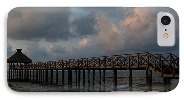 Pier Into Dawn IPhone Case