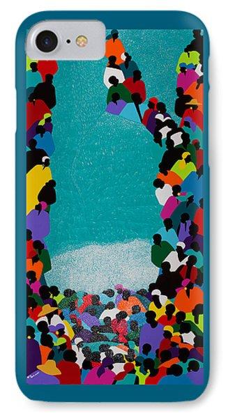 iPhone 8 Case - Pilgrimage Saut D'eau by Synthia SAINT JAMES