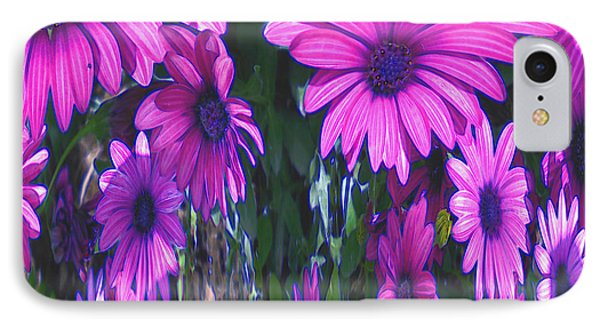 Pink Flower Power IPhone Case