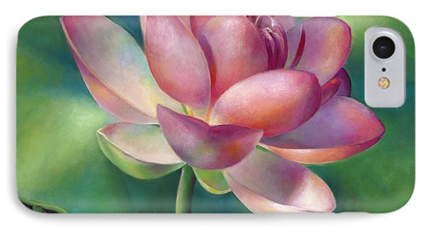 Pink Lotus Water Lily IPhone Case