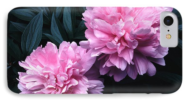 Pink Peony Pair IPhone Case