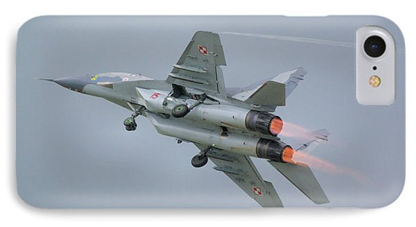 Polish Air Force Mig-29 IPhone Case