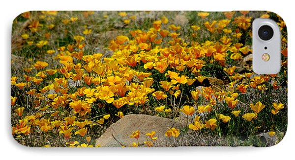 Poppies Everywhere IPhone Case