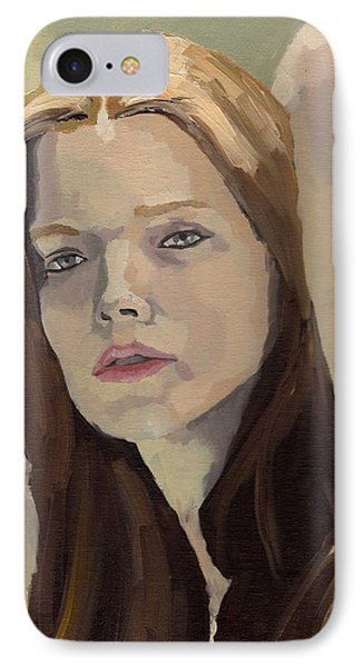 Portrait Of Ashley IPhone Case