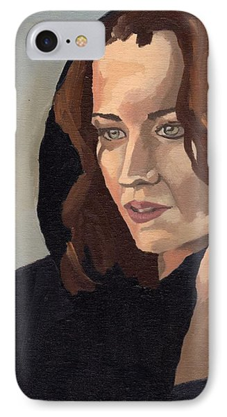 Portrait Of Becca 2 IPhone Case