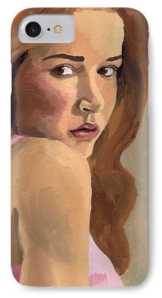 Portrait Of Laia IPhone Case